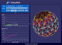 DaisyBall simulator screenshot