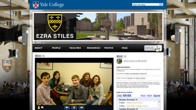 Ezra Stiles College at Yale